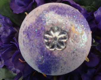 """Bath Fizzie with over 10 Essential Oils - """"DANCING WITH FAIRIES"""" Fairy Fizzie Bath Ball"""