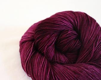 Plum Tart - Gosling - 80/10/10 superwash merino/ cashmere/ nylon sock yarn
