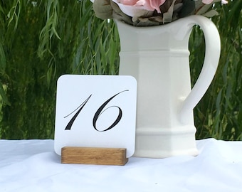 Table Number Holder + Rustic Table Number Holder (ON SALE)