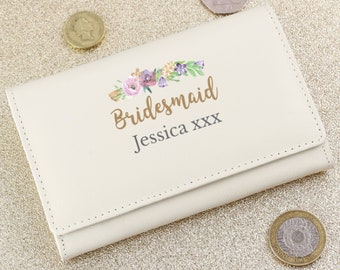 Personalised Bridesmaid Purse