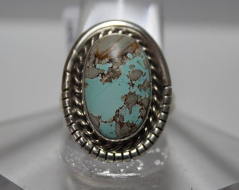 Royston Turquoise and Sterling Silver Ring