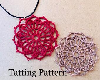Notre Dame Rose Window PDF tatting pattern