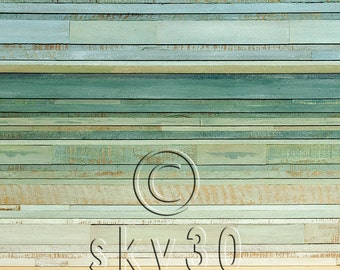 PRINT- Midday Reclaimed Wood Art