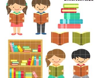 Bookworm Clip Art,  Reading Clipart,  Books Printable,  Stories Clip Art, Digital Art,  Clip Art,  Royalty Free