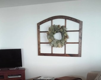 Extra Wide Arched Window (Assembly Required)