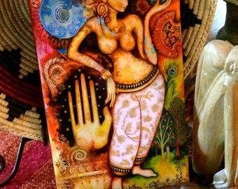 SARASVATI - Goddess of the ARTS and ELOQUENCE