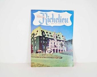 Manor Richelieu 1960s brochure - Murray Bay - Pointe-Au-Pic