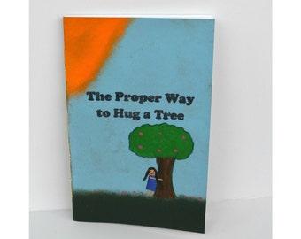 Tree Hugger Zine, Hippie Zine, 20 page zine, Guide, Eco-friendly Zine, Hippie Book