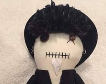 Jay Bonansinga Portrait - Creepy n Cute Zombie Doll (P)