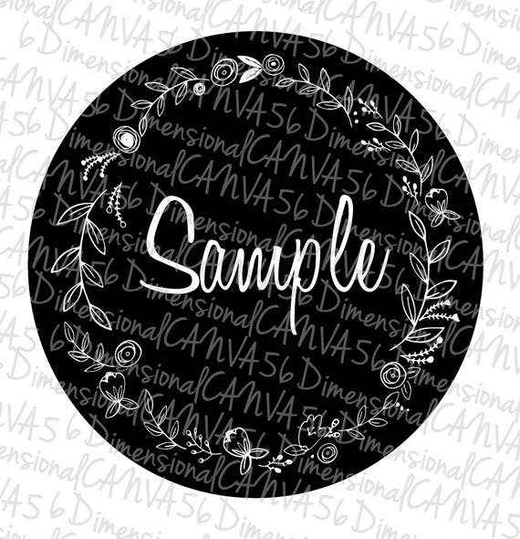 Laurels Jeep Tire Cover by Etsy