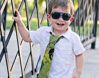 Little Boys, BMX Tie, Biking, Xing, Sports, Army Green, Black, Mustard