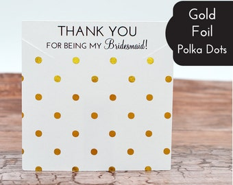 Metallic Gold Silver Foil Polka Dots - Custom Necklace Cards - Bows - Barrettes - Jewelry Display Cards Price Tags