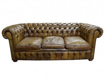Chesterfield Sofa Antique Vintage