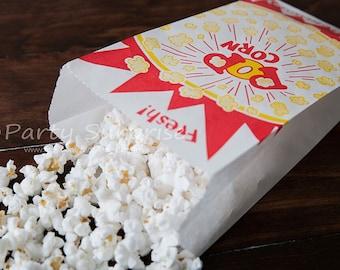 Popcorn Bags, Mini popcorn bags, Carnival Fairs Party Popcorn Bags, Food bags