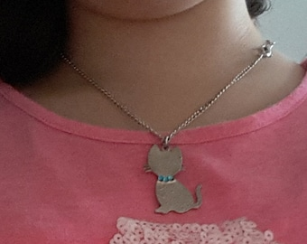 ONE ONLY! Cat Necklace! Super Cute