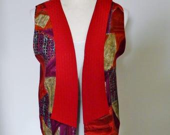 HAGGERTY ARTWEAR SILK vest