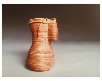 Sculpture Mug - Wood Fired - Sandstone Slot Canyon Inspired - Iconic American South West