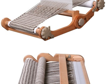 ASHFORD KNITTERS LOOM folding rigid heddle travel loom 12-inch, 20-inch or 28-inch