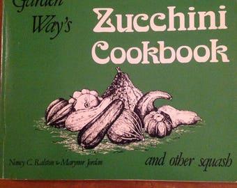 Zuchini cookbook