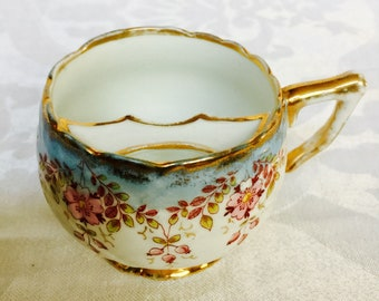 Antique RARE Moustache Cup or Small Mug for Drinking Tea or Coffee or Beverage