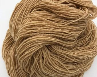Medium Patience 4ply hand dyed plant dyed merino/nylon sock yarn 100g