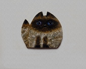 Siamese Cat Magnet, Mother's Day gift,
