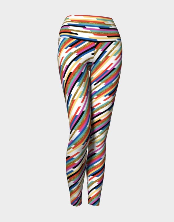 Worth The Hype Stripe Yoga Leggings
