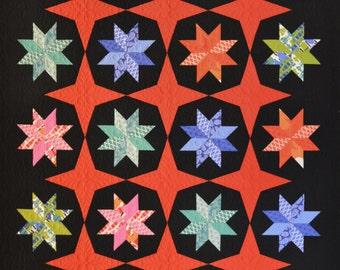 Whirling Lemoynes Quilt Pattern