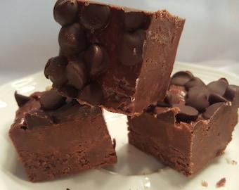 DARK CHOCOLATE FUDGE Gourmet Candy Fudge 1/2 pound