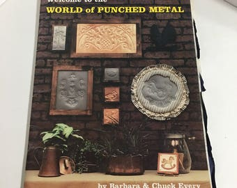 Vintage Punched Metal Instructions Booklet