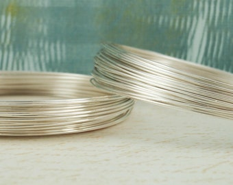 Premium Half Hard Non Tarnish Silver Plated Wire - You Pick Gauge 14, 16, 18, 20, 22, 24, 26 - 100% Guarantee