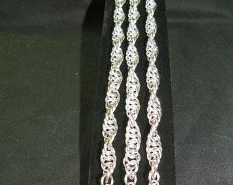 Triple Spiral Bracelet