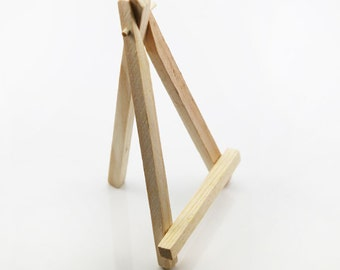 Mini Wooden Easel for Displaying Instruction Card in the Wedding Ceremony