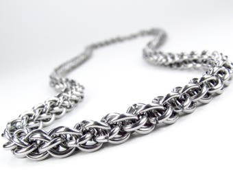 Jens Pind - Chainmaille Necklace - Stainless Steel