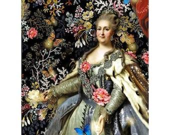 Katharina die große - im verzauberten Garten - 7 Postkarten-set