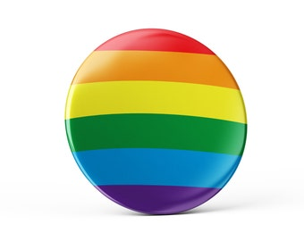 Pride pin button, gay pin button, gay pin, colorful pin badge, cool bag decoration, gay decoration, gay flag