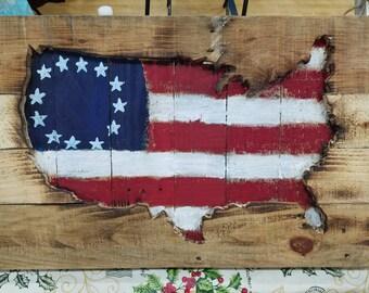 Pallet USA cutout