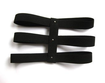harness leg garter thigh garter triple
