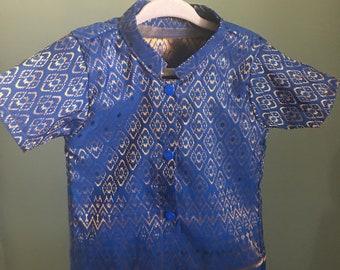 Traditional Cambodian/Thai/Laos Boys Shirt & Pants