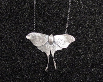 Luna Moth Necklace - Medium