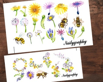 Sticker Sheets Dandelion Love