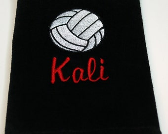 PERSONALIZED SPORTS Towels - Machine Embroidered