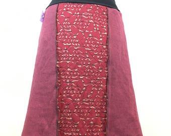 Handmade Knit Skirt xs-medium