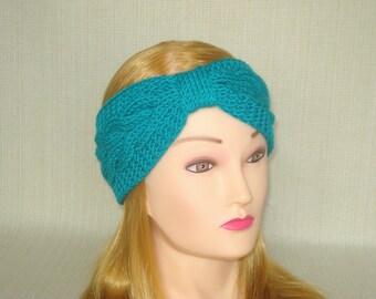 Winter headband Knit headband ear warmer Knit turban headband Womens head band Cable knit headband Knit head wrap Knit ear warmer headwrap
