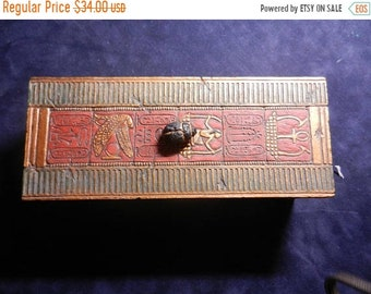 Spring Sale Vintage Egyptian Pacific Giftware Box