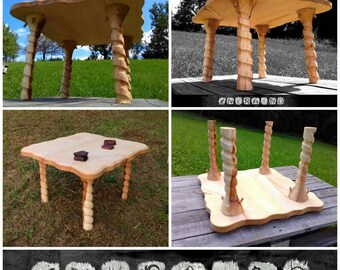 Coffee table legs, ASH WOOD, table bases, dining table legs, wooden coffee table, table legs, furniture legs, wood furniture, spindle legs