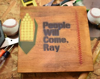 Field Of Dreams People Will Come Ray Original Painting On Wood
