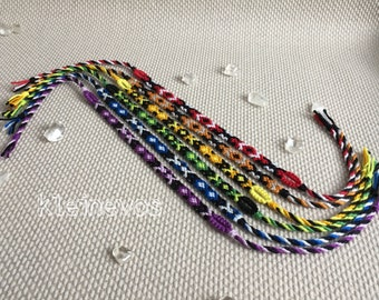 Friendship bracelets, bohemian bracelets