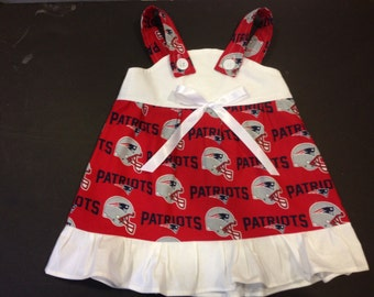 NFL New England Patriots Baby Infant Toddler Girls Dress  You Pick Size