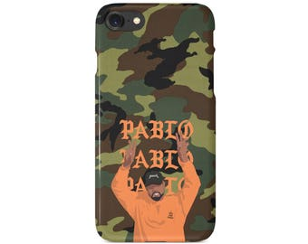 Green Camo TLOP Kanye West YEEZY Camo Pablo Phone Case | iPhone 6 6s 7 7+ 8 8+ X | Samsung Galaxy S6, S7, S7 Edge, Note 7 | MadeinQnz USA